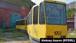 Алматинский трамвай.