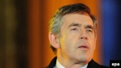 British Prime Minister Gordon Brown set up the inquiry team in June.