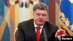 Петро Порошенко на засіданні РНБО, 4 листопада 2014 року