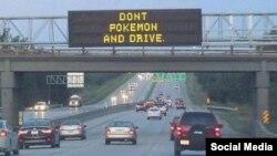 ABŞ-da xəbərdarlıq edirlər ki, sürücülər Pokemon GO oynamasınlar
