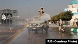 تصویری منتشر شده از بخشی از مانور در مشهد