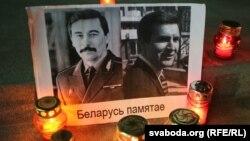 Партрэты Юрыя Захаранкі і Віктара Ганчара