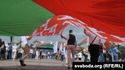 Мітынг за Лукашэнку ў Горадні, 22 жніўня 2020 году