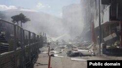 Թուրքիա - Պայթյունի հետևանքները, Բեշյոլ, Վանի նահանգ, 12-ը սեպտեմբերի, 2016թ․