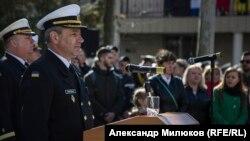 Командующий Военно-морскими силами ВС Украины Игорь Воронченко