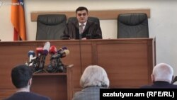 Судья Апелляционного суда Мхитар Папоян (архив)