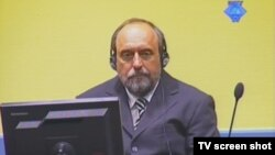 Goran Hadžić u haškoj sudnici