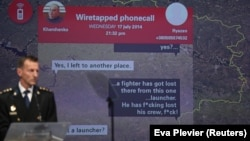 Dutch investigator Wilbert Paulissen reveals evidence in the shooting down of the MH17 airliner in 2014.
