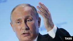 Ресей президенті Владимир Путин. Сочи, 27 қазан 2016 жыл.