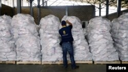 Ndihma humanitare për Venezuelën.