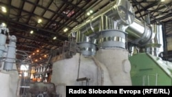Постројка за одземање пареа од турбините на РЕК Битола