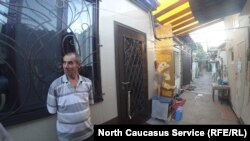 Дом в Махачкале, который признали аварийным