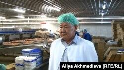 Ниязбек Татибеков, директор птицефабрики в Талдыкоргане. Алматинская область, июль 2015 года.