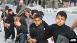 مراسم عاشورا در شهر نجف عراق
