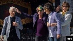 Британдық Rolling Stones тобының мүшелері.