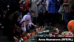 Акция памяти в Хабаровске