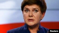 Беата Шидло, премьер-министр Польши
