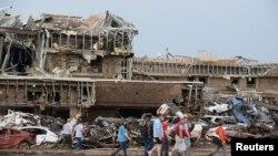 Лікарня в місті Мур після торнадо, фото 20 травня 2013 року