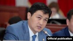 Председатель Счетной палаты Улукбек Марипов.