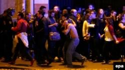 Sulmet në Paris, foto arkiv