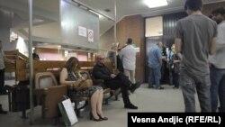 Sa suđenja za pokušaj atentata na Vuka Draškovića, Beograd, 19. jun 2012.