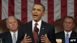 January 28: U.S. President Barack Obama delivers his State of the Union address.