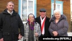 Ульяна Захаранка, Васіль Палякоў, Уладзімер Кацора, пляменьніца Люба