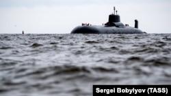 Российская ядерная подлодка, иллюстративное фото