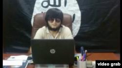 Таджикский боевик в «Исламском государстве», известный под псевдонимом Абу Довуд Точики.