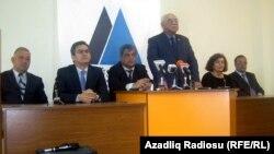 Mətbuat konfransı, 30 aprel 2012