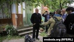 Лидер белорусской оппозиции Николай Статкевич
