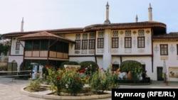 Одно из зданий Ханского дворца в Бахчисарае