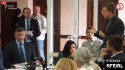 Засідання комітету щодо нападу співробітників УДО на знімальну групу програми «Схеми»