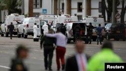 Pamje nga skena e sulmit në Bogota.