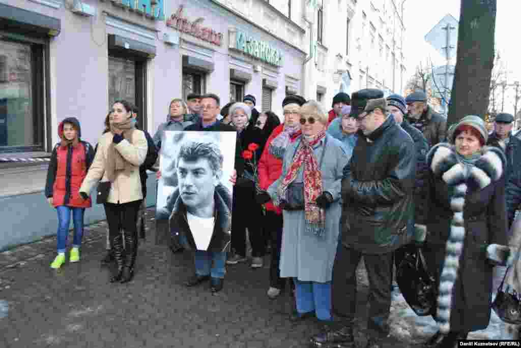 Акція пам'яті Бориса Нємцова в Ярославлі