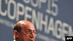Președintele Traian Basescu la reuniunea de la Copenhaga