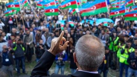 Milli Şuranın mitinqi, 12.10.2014