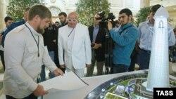 Кадыров рассматривает проект башни