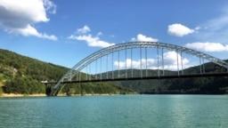 Kosovo -- Gazivoda or Gazivode Lake, an artificial lake in Kosovo and Serbia, August 13, 2018.
