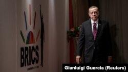 Recep Tayyip Erdoğan BRICS sammitində