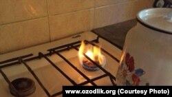 Uzbekistan gaz crysis - furnace