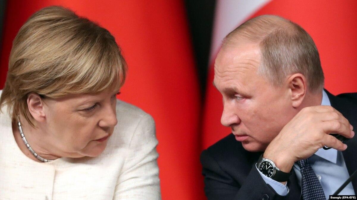 Меркель и Путин обсудили предстоящую встречу в «нормандском формате»
