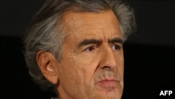 Bernard-Henri Levy spent time in Bosnia during the war.