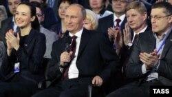 Владимир Путин на съезде ОНФ в Ростове-на-Дону, март 2013 года