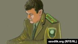 42-летний полковник СНБ Узбекистана Тоймуроз Алимов