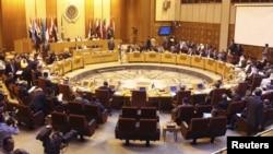 احد اجتماعات مجلس الجامعة العربية(من الارشيف)