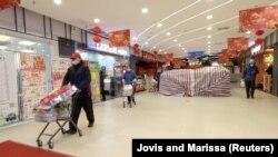 უჰანის ერთ-ერთი სავაჭრო ცენტრი