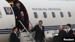 Dolazak Markača i Gotovine u Zagreb, 16. studeni 2012.