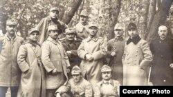 Ofițeri români prizonieri în Germania (Expoziția Marele Război, 1914-1918, Muzeul Național de Istorie a României)