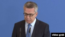 Міністр внутрішніх справ Німеччини Томас де Мезьєр